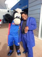 Detroit Pistons Hoopster and Dynamike