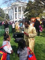 Performing at the White House 2